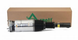 Arnott's completely remanufactured OE Front Right Air Strut for the 2014-2018 Land Rover Range Rover Sport (L494 Chassis).