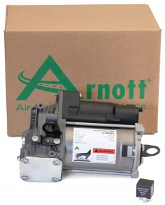 Arnott Air Suspension Compressor (P-3215) for the 2006 to 2012 Mercedes-Benz R-Class.