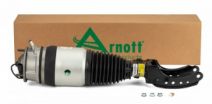 AS-3056 (front right) and AS-3057 (front left) are Arnott rebuilt OE air suspension struts for the 2011-2017 Porsche Cayenne (92A Chassis) with auto leveling