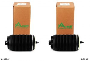 new aftermarket replacement air springs for 2012 – 2018 C7 Chassis applications including the Audi A6, A6 Quattro, S6, S7 and RS7 models – all with air suspension.