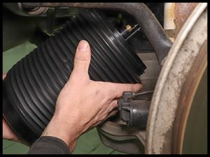 replace repair a failing leaking rear volvo air spring